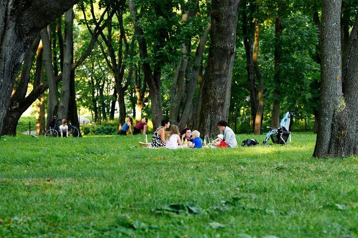 Kalamajan puisto on viihtyisä piknikpaikka, josta löytyy vanha kellotorni sekä leikkikenttiä ja polkuja, joita on hauska risteillä. Kalamajan puisto on myös puistohautausmaa. Ensimmäiset kirjalliset maininnat Kalamajan hautausmaasta ovat vuodelta 1561. Puistoksi alue muutettiin vuonna 1964 ja luonnonsuojelualue siitä tuli vuonna 1993. #kalamaja #eckeröline #tallinna #tallinn