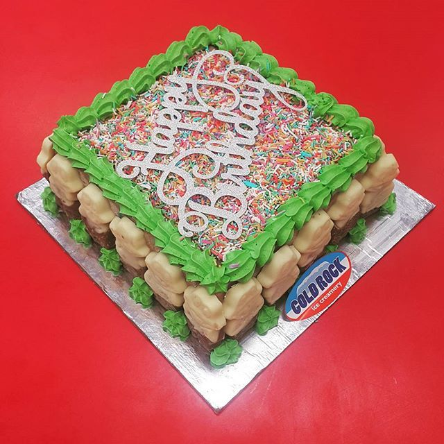 Celebration Cakes Made Freshly At Coldrockaspley Freddo Icecreamcakes Coldrockofficial Ice Cream Cake Celebration Cakes Cake