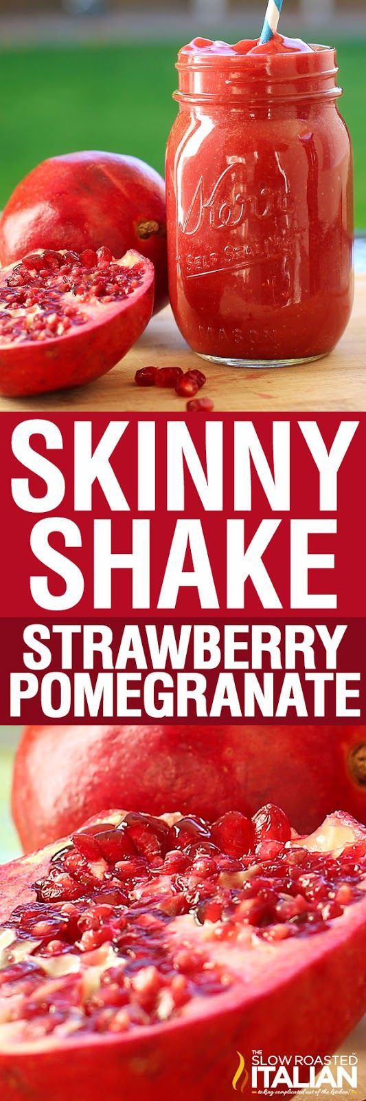 Detox with Skinny Shakes! A tasty smoothie that will knock your socks off. Skinny Shake is a simple recipe for a scrumtious strawberry pomegranate smoothie enjoyed once a day mid morning. I love smoothies and the flavors here are insanely delicious. The entire family loves it and it kick starts fat burning to boot. Sign me up!