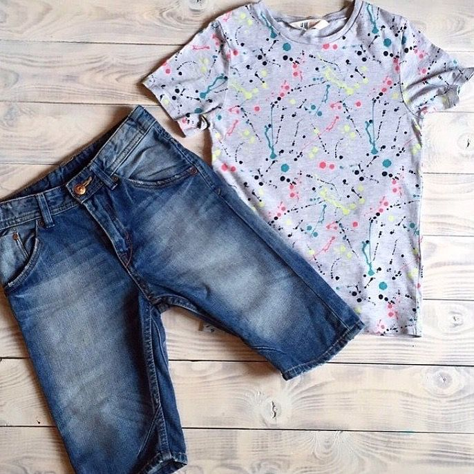 Шорты и футболка h&m, р.116, идеальное состояние, 800 ₽✨ #kidtobaby #kidtobaby_товары
