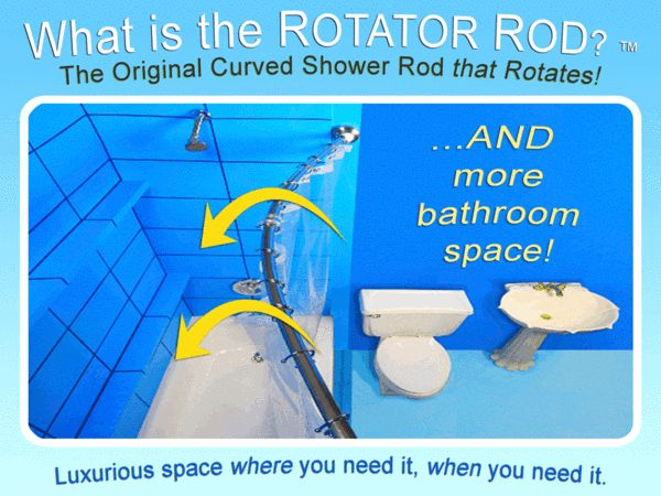 Apartment Property Manager Endorses The Curved Shower Rod That Rotates Video