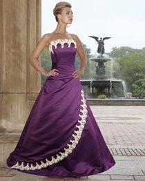 Cadbury Alternative Dark Purple Wedding Dress Dresses Gowns Gothic