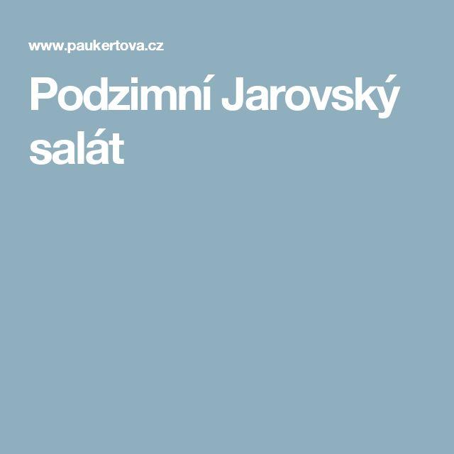 Podzimní Jarovský salát