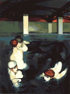 Juarez Machado (Brazil, born 1941)  'Bath of Rejuvenation'
