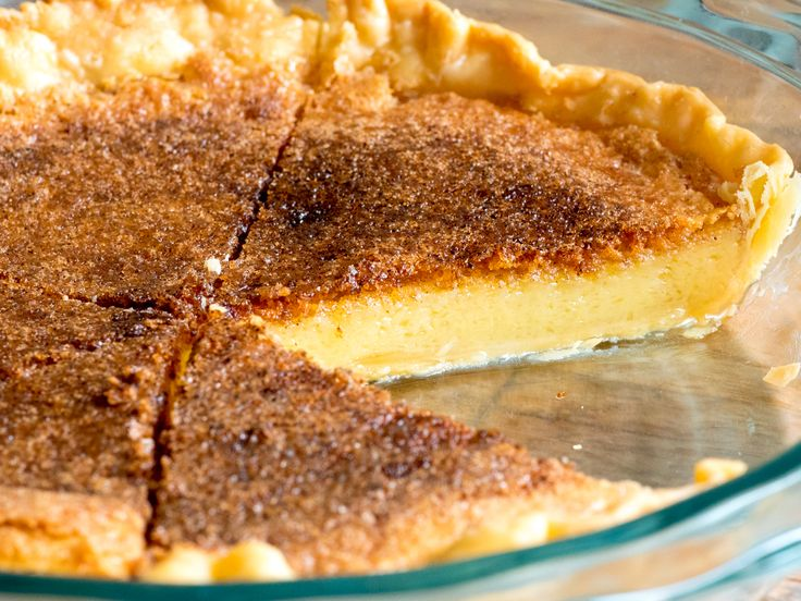 We Need To Bring Back These 8 Forgotten Pie Recipes! VINEGAR PIE.
