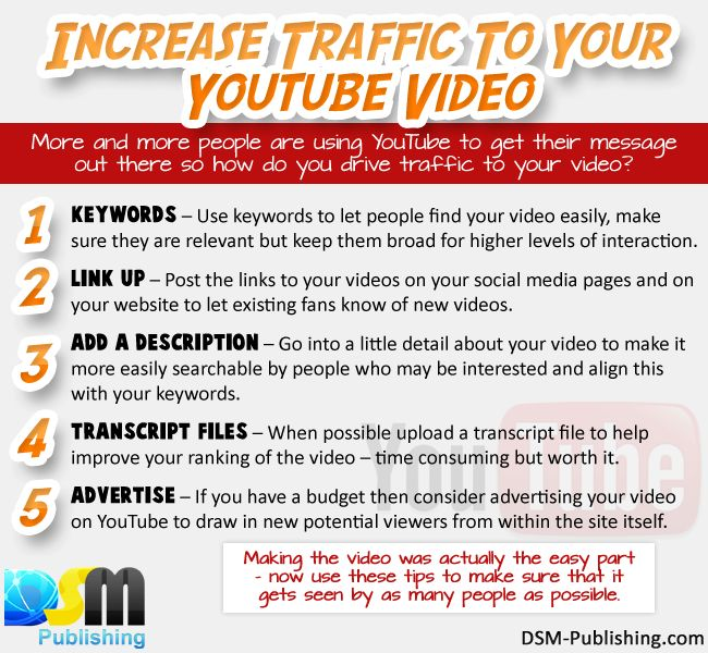 Increase traffic to your youtube video. #socialmedia #youtube #tips