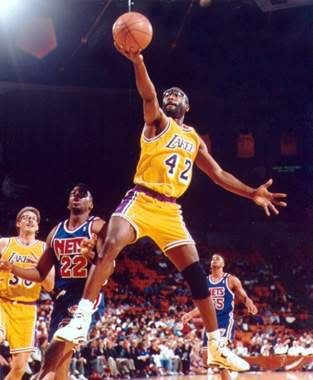 """James Worthy is a retired Hall of Fame American college and professional basketball player. Named as one of the 50 Greatest Players in NBA History, """"Big Game James"""" was a seven-time NBA All-Star and three-time NBA champion."""