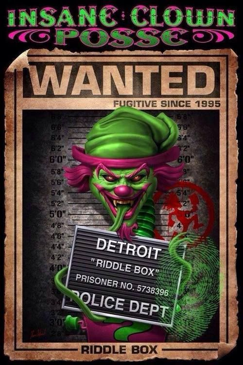 The Great Milenko Insane Clown Posse | Tumblr | Evil clown ...