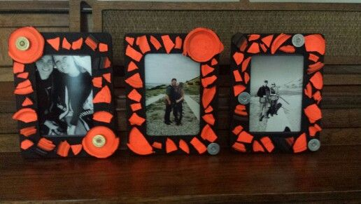 Clay pigeon frames