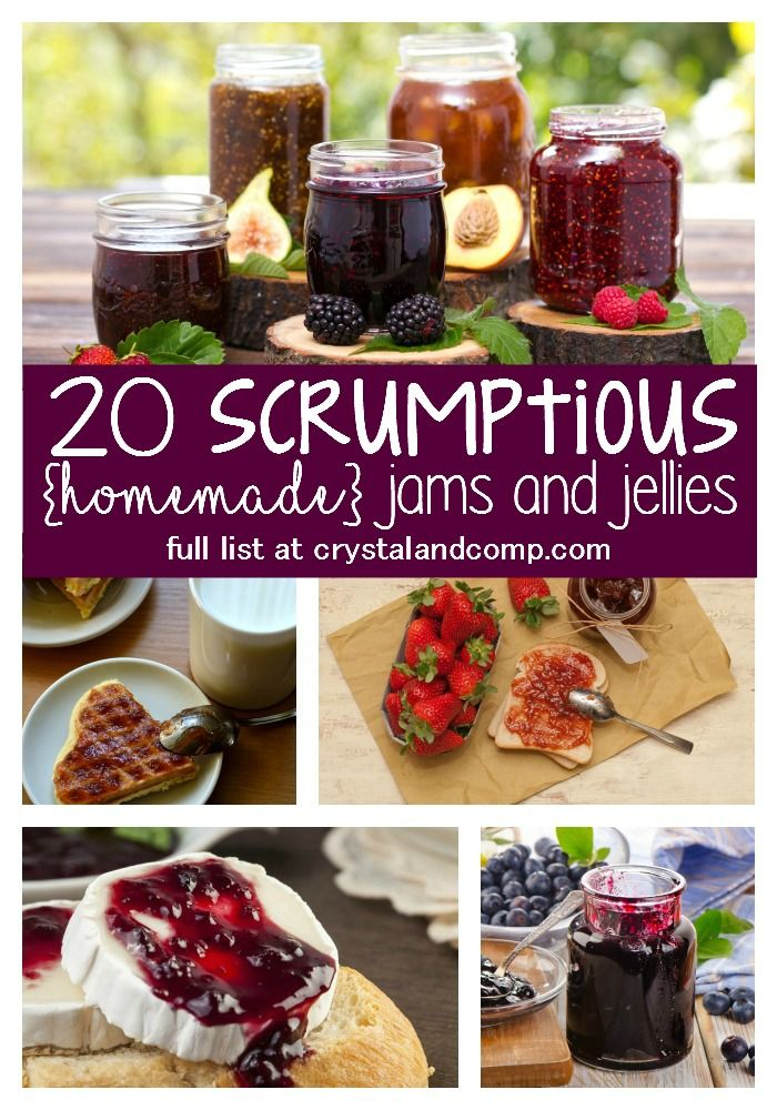 20 Scrumptious Homemade Jam and Jelly Recipes