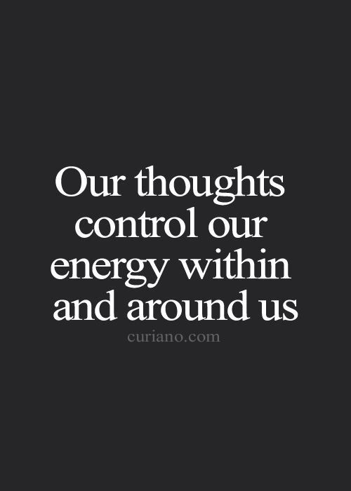Our thoughts