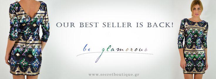 Καλημέρα! Μας το ζητήσατε και το κάναμε! Το #1 σε πωλήσεις φόρεμα είναι και πάλι διαθέσιμο στα καταστήματά μας!  Θα το βρείτε στο παρακάτω link με -15% και δωρεάν μεταφορικά!  https://www.secretboutique.gr/el/top-clothing-items/dress-multi-aztec