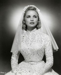 Janet Leigh, 1950s.  Married Tony Curtis. Had a daughter named Jamie Lee Curtis. And now you know the rest of the story!