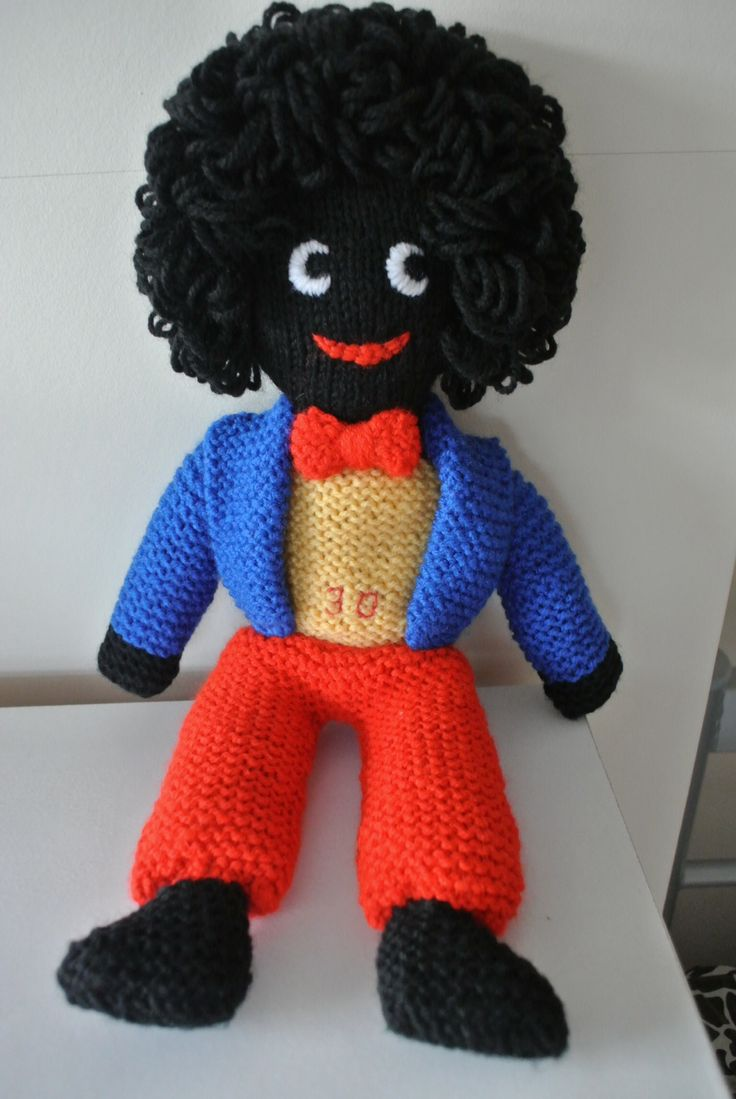 Knitted Golliwog Pattern : 1000+ images about ? Gollys on Pinterest Kitchenware, Ruby lane and Vi...