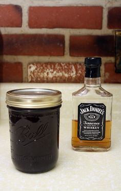 JACK DANIEL'S GLAZE  ==  1 c. dark brown sugar, 1/2 c. Jack Daniel's whiskey, 1/2 c. soy sauce, 1/2 c. ketchup, 1 heaping T steak sauce (I used homemade A.1 sauce), 1 heaping T Sriracha hot sauce (or your favorite), 3 t. apple cider vinegar, 2 t. bacon drippings, 2 t. garlic powder, 1 t. onion powder, 1 t. paprika, 1/2 t. chipotle powder, pinch of cayenne pepper   ==========