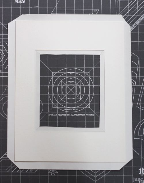 How to make a decorative picture mat | How About Orange