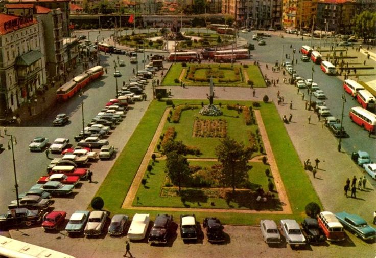 Taksim Meydanı, 1968 - Taksim Square, 1968 #istanlook