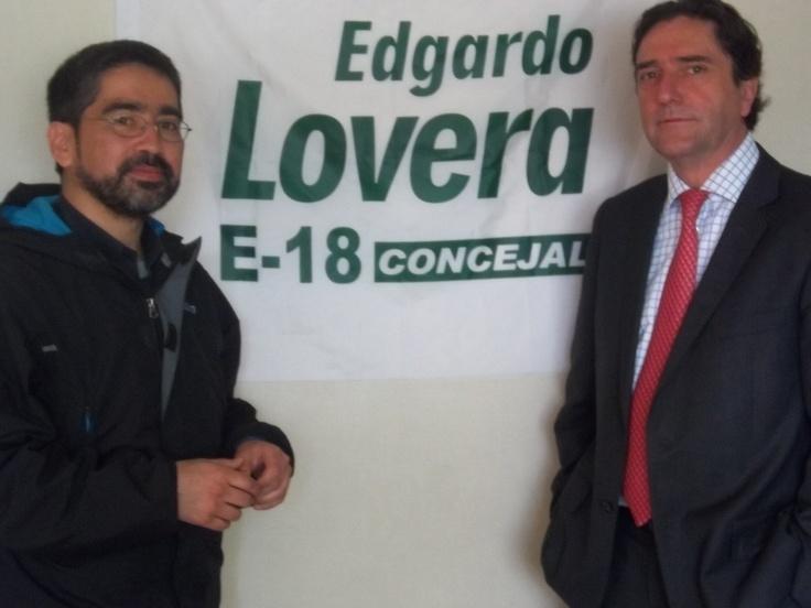 Visita de Jose Antonio Gomez a Temuco