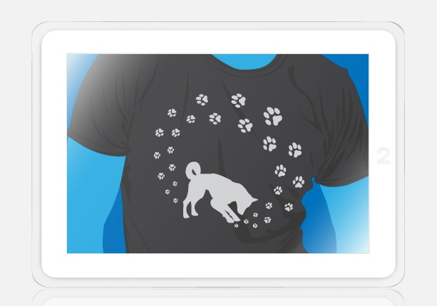 t-shirts for french animal shelter