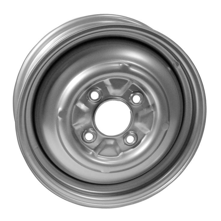 "4 Lug Rim Silver Smoothie 4/130 5.5"" Wide"