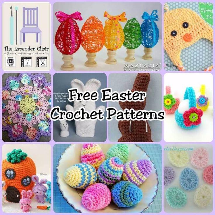 Free Amigurumi Easter Crochet Patterns : 17 Best ideas about Easter Crochet Patterns on Pinterest ...