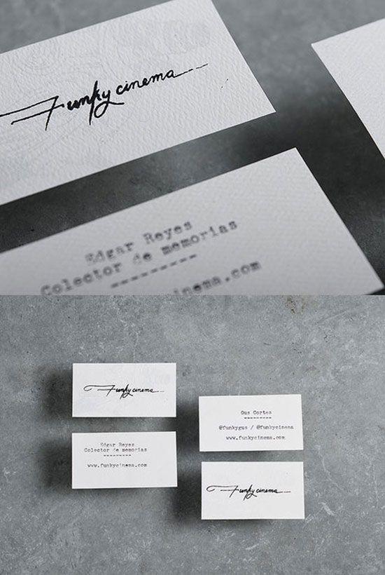 Funky Cinema Business Card
