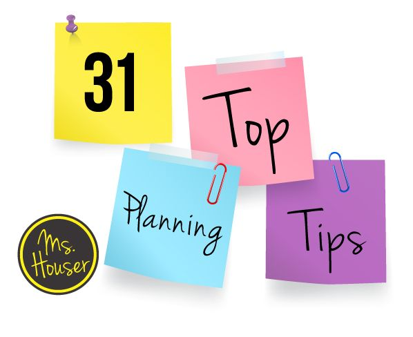 Top Planning Tips for Coaches and Teachers