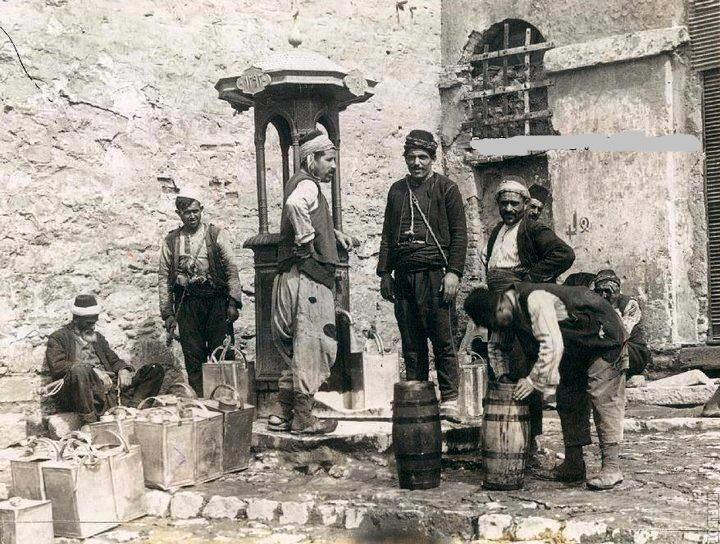 İstanbul , 1918 Hamidiye Suyu