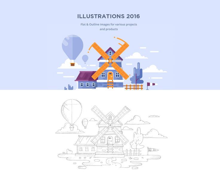 This project is a collection of illustrations which were made for various…