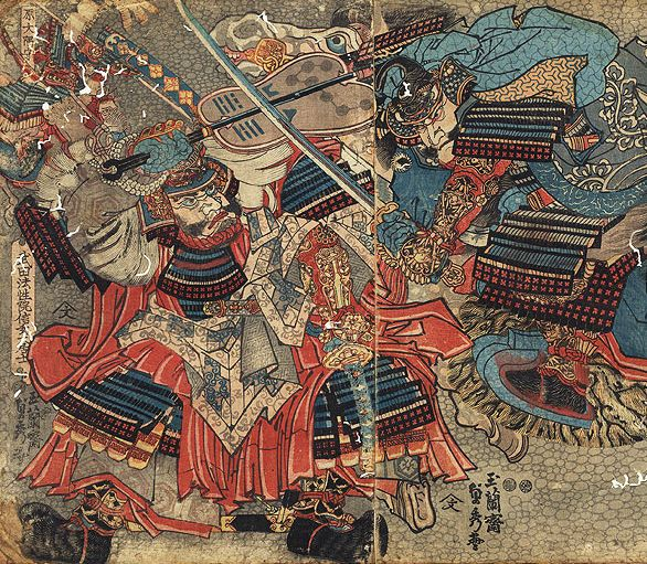 The Encounter Between Two Great Generals Takeda Shingen