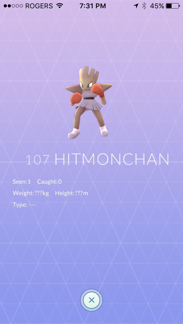 A rare Pokemon but I couldn't capture her!