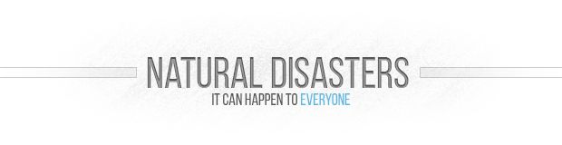 Global disasters will definitely bring the catastrophes with the biggest consequences for humanity.