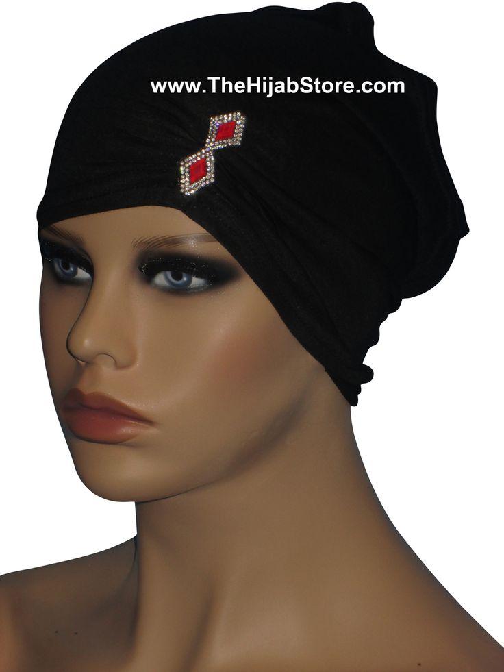 Jeweled Tube Hijab Under Scarf | Hijabs | TheHijabStore.com