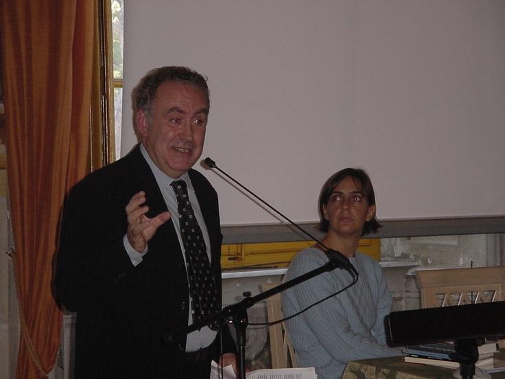 Io e Michele Santoro
