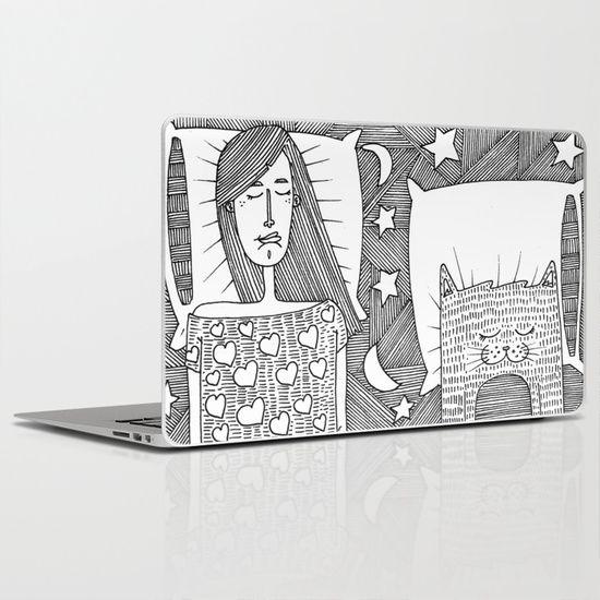 We sleep together Laptop & iPad Skin