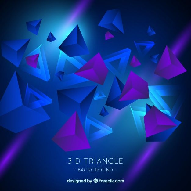Download Abstract Background With 3d Triangles For Free 3d Triangle Abstract Backgrounds Vector Free