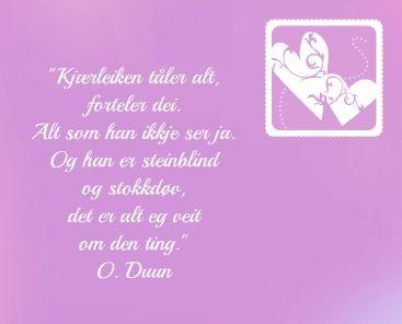 Olav Duun sitat