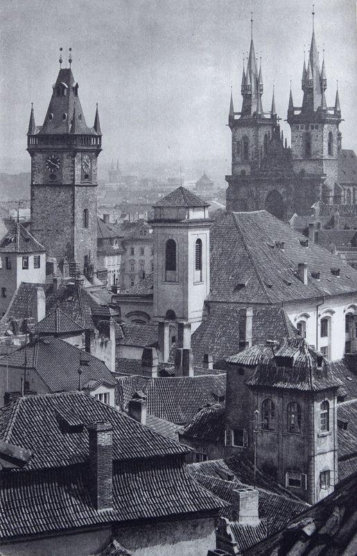 Fotografové Prahy, historické fotografie | Foto Karel Plicka