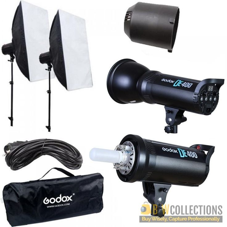 Buy GODOX DE-400 Strobe Light Kit At Rs.27,500 Features >> Wireless power control and flash triggering system, 1/2000s flash duration Cash on Delivery In All Over Pakistan, Hassle FREE To Returns Contact # (+92) 03-111-111-269 (BnW) Email :- info@bnwcollections.com #BnWCollections #GODOX #Strobe #Light #Kit