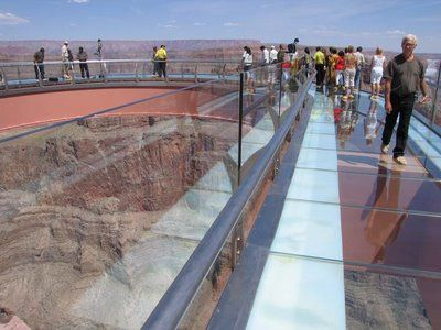 The Ledge was inspired by glass-floored thrills at the Grand Canyon.