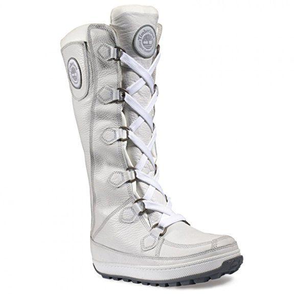 Timberland Damen Mukluk 16 Inch Waterproof Boots, Stiefel Farbe: Weiß (31338); Größe: EUR 38.5 | US 7.5 | UK 5.5