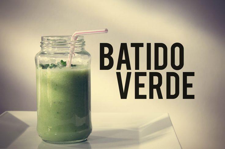 Baja de peso con este batido verde #Batido