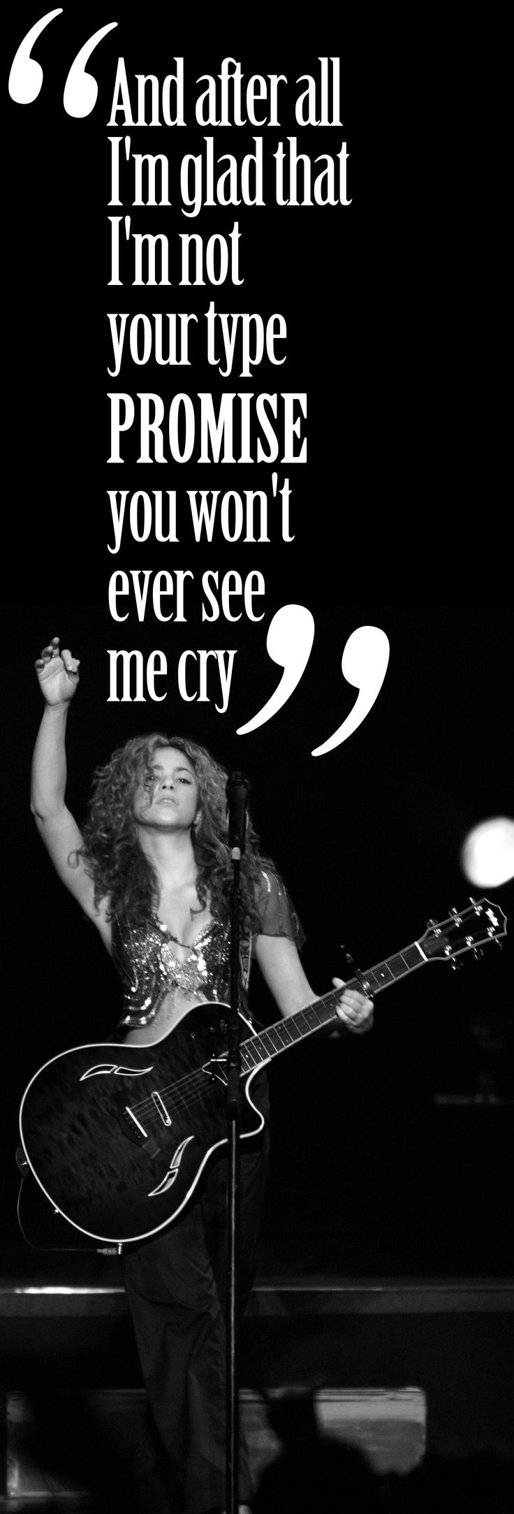 Don't bother #Shakira