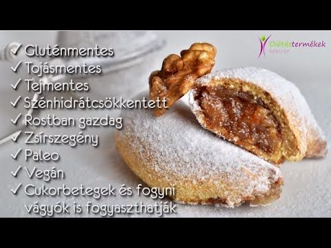 Szafi Fitt mindenmentes DIÉTÁS hókifli (paleo, vegán recept)