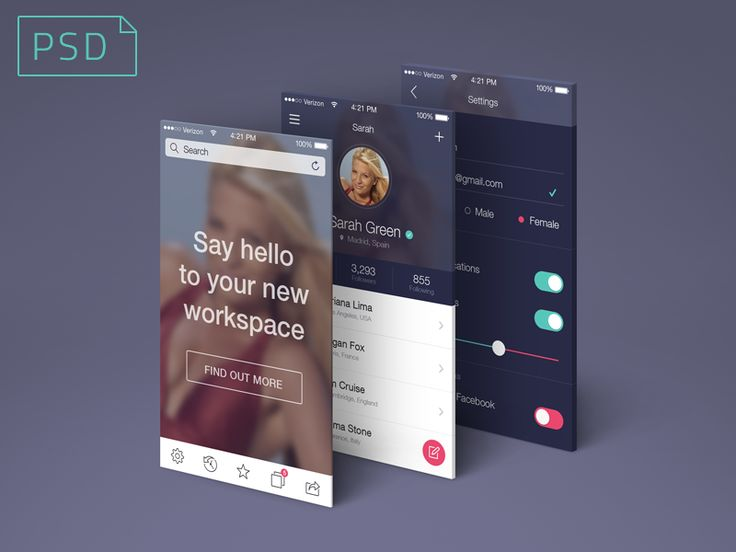 Hey everyone! Here's a fully-editable PSD freebie to showcase your next app design.  Free Download  Real Pixels