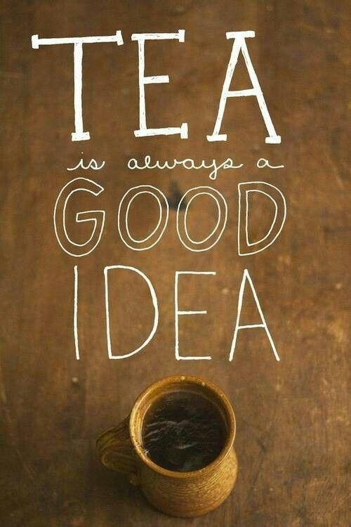 Tea is always a good idea...  #Goodmorning #Beveragewala
