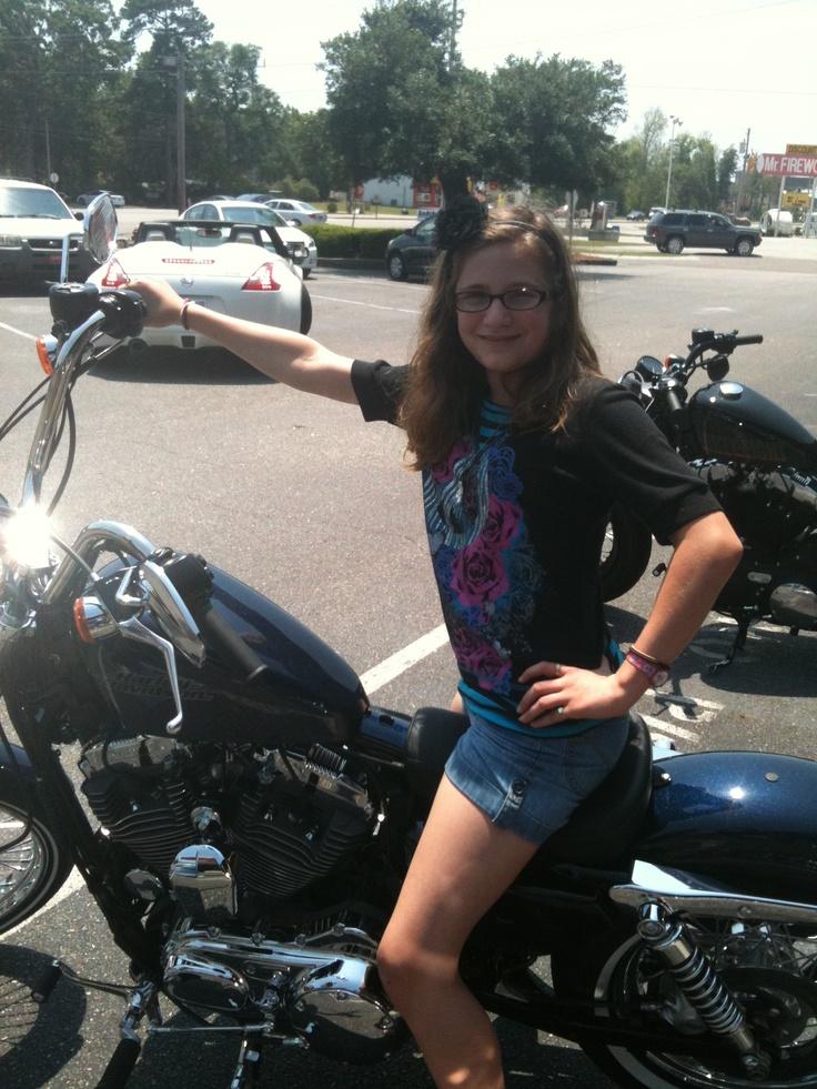 @ the Harley Davidson shop in myrtle beach.