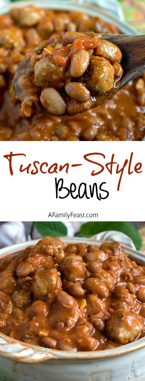 Tuscan Style Beans Calico Beansbean Recipessoup