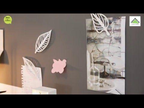 Mural de pintura imantada Leroy Merlin) - YouTube                                                                                                                                                                                 Más