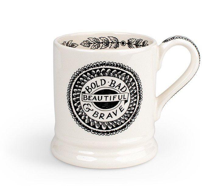 emma bridgewater pottery usa black toast bold  u0026 beautiful